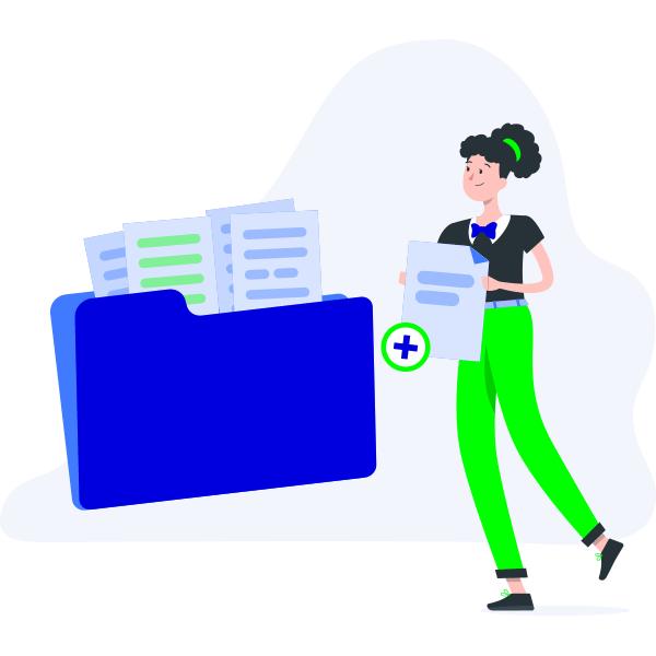 Gestión de documentos en ficheros